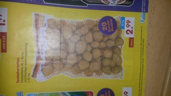 Netto Marken-Discount ohne Hund 10 kg Kartoffeln
