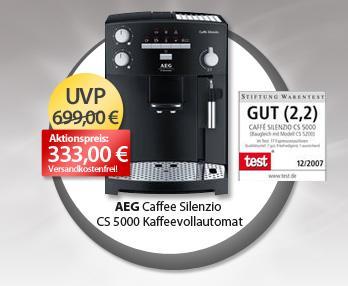 AEG CS 5000 Kaffeevollautomat  @MeinPaket