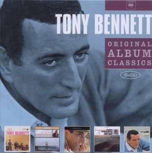 Amazon Prime : Tony Bennett - Original Album Classics 5 er  Box-Set - Nur 8,49 €
