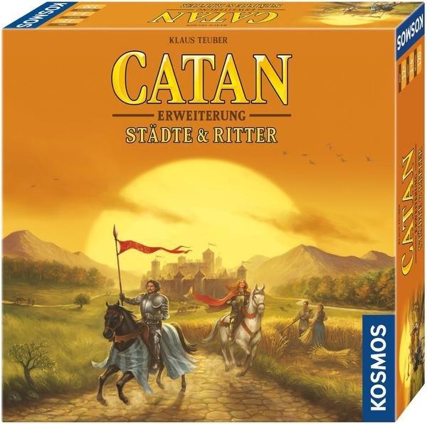 Catan: Städte und Ritter 3-4 Spieler - Erweiterung  (Brettspiel, Gesellschaftsspiel, Buch.de)