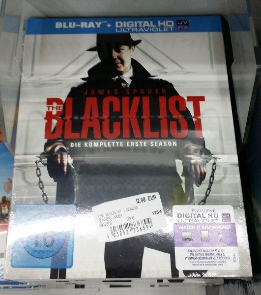 [Media Markt - Freiburg] The Blacklist - Season 1 - Bluray + Digital HD (Ultraviolet)