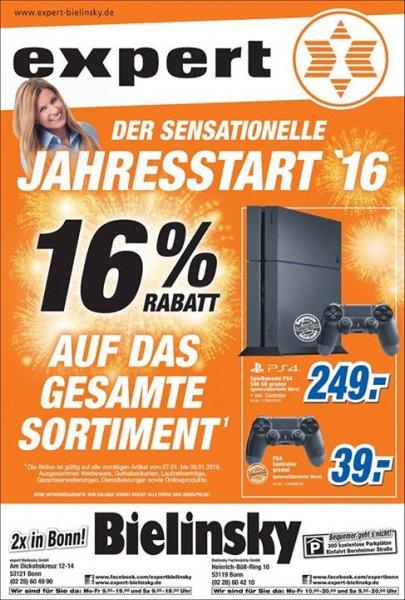 [Lokal] Expert Euskirchen PS4 500GB graded 249€, Controller graded 39€