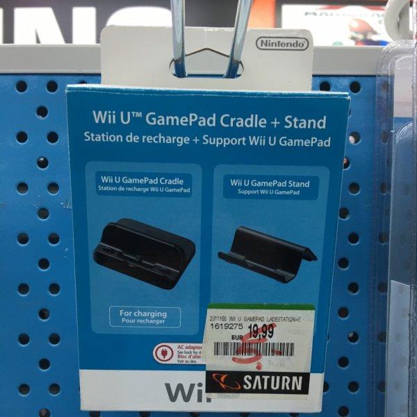 Lokal München PEP - Wii U Gamepad Ladestation + Stand