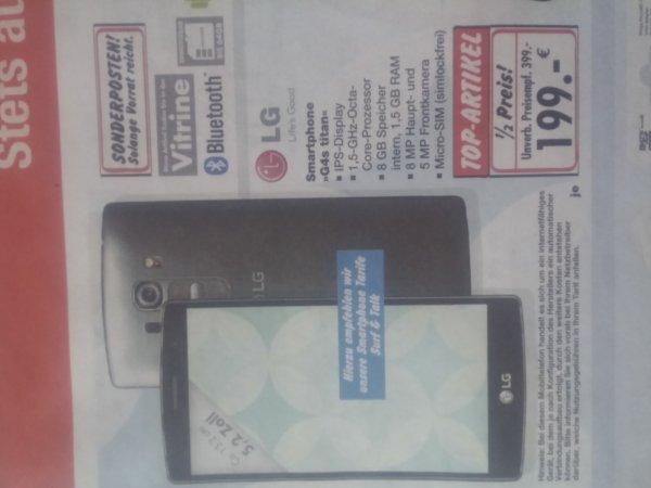 LG G4s Titan Smartphone 199 € Kaufland