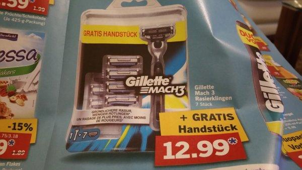 [lidl] Gilette Mach3 mit Handstück und 8 Klingen