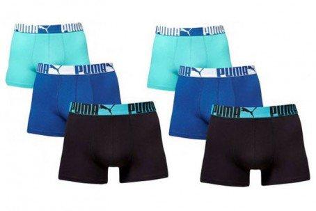 PUMA Boxershorts Boxer 6 Stück, Gr. S