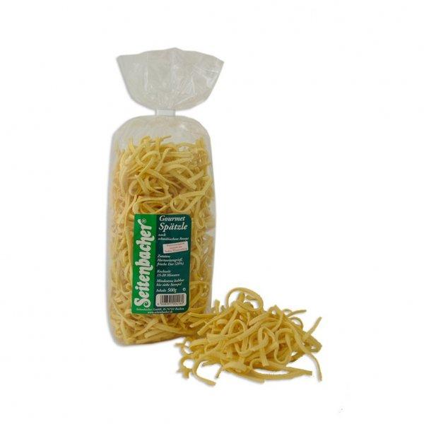 Amazon Prime : Seitenbacher 6 Frisch-Ei Gourmet Spätzle, 8er Pack (8 x 500 g Packung) Nur 11,53 € statt 26,53 €