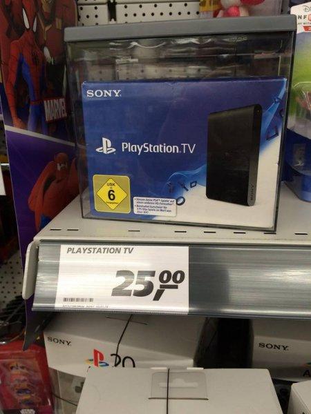 [Lokal(?) Real Mülheim-Kärlich] Sony Playstation TV 25,00 €