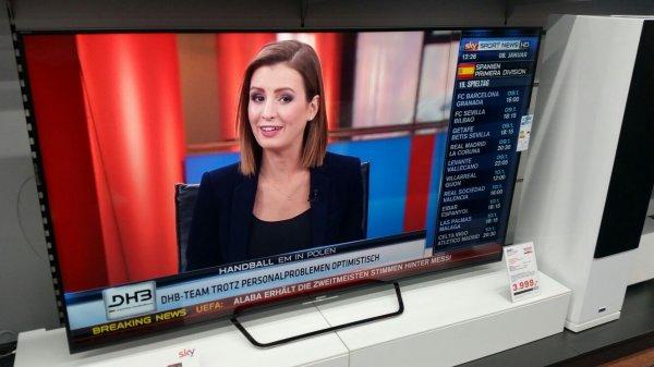 75 Zoll Sony 4K TV 1000 Euro unter Online Preis