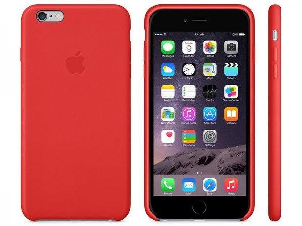 Apple iPhone 6 Plus Leder Cover (blau oder rot) für 23,70€ inkl. VSK @proshop.de