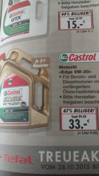 [Lokal Heidelberg] Castrol-Edge 5W-30 5l Kanister bei Kaufland
