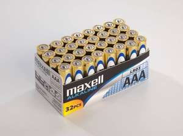 [2% QIPU] 96 Maxell Alkaline Batterien (AAA Micro LR03) für 15,98€ inkl. Versand bei RAKUTEN
