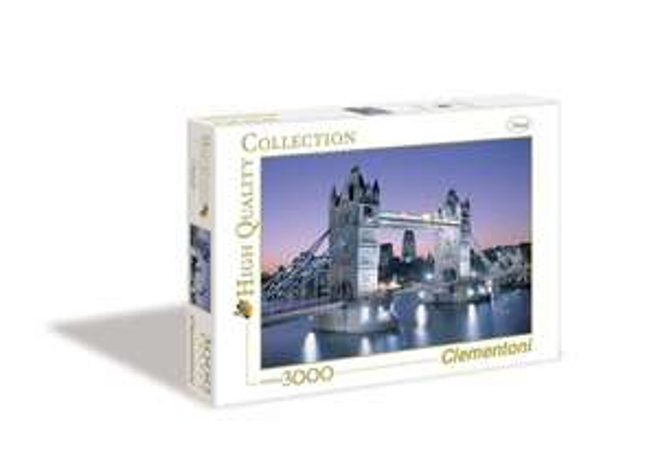 Clementoni Puzzle (3000 teilig) - Tower Bridge für 12,99 @Amazon Prime