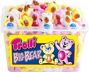 Amazon Prime : Trolli Big Bear, 2er Pack (2 x 1.2 kg) - Nur 7,72€