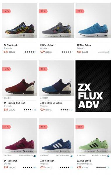 [adidas.de] Adidas ZX Flux versch. Modelle für ab 39€ + VSK