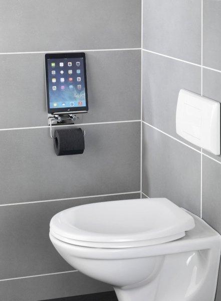 [Amazon] Wenko Toilettenpapierhalter mit Smartphone Ablage 15,99€