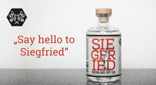 [The Qvest Shop] Siegfried Rheinland Dry Gin 0,5l [24 Euro inkl. VSK]