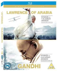 Gandhi/Lawrence Of Arabia/The Man With No Name Trilogy (Nur Englisch!)