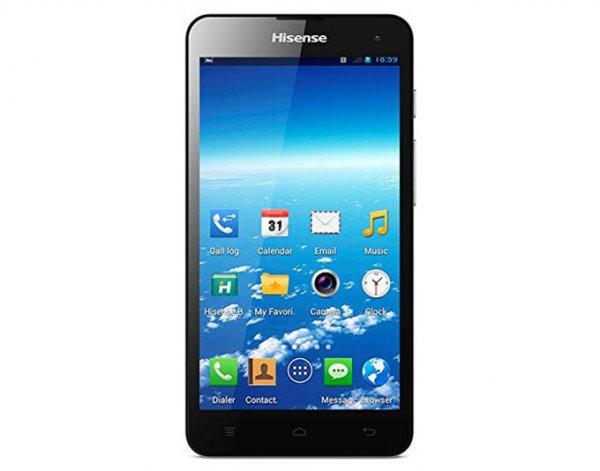 Hisense HS-U971AE Smartphone ( 5Zoll , 1280x720 , Dual Sim , 8GB + Micro-SD , Wechselbarer Akku, 8 Megapixel Kamera) in weiß oder schwarz@ AllyouNeed