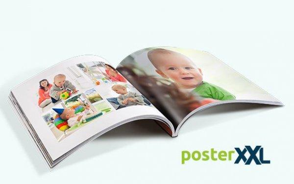 (pampers.de) 32seitiges Fotobuch von Poster XXL exklusiv Versandkosten