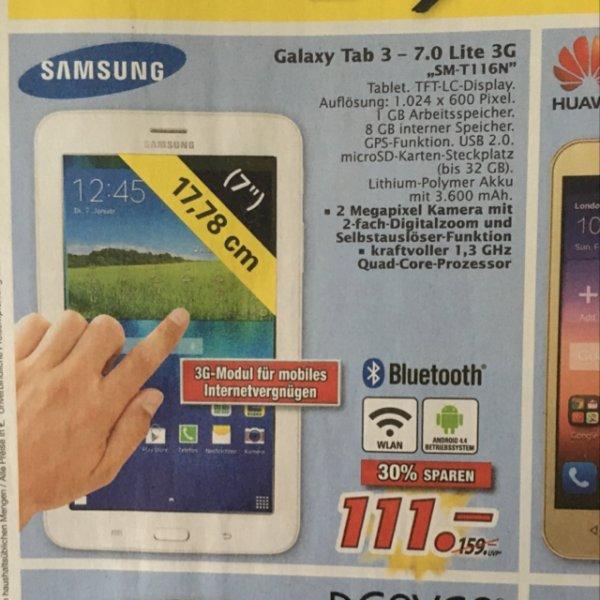 Samsung Galaxy Tab 3 mit 3G