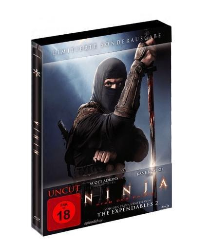 Ninja - Pfad der Rache (Steelbook) Uncut für 9,99€ bei Media Markt