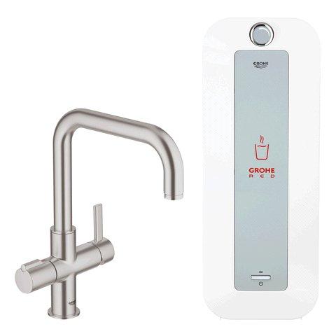 Grohe Red Kochenwasser-Untertischgerät inkl Armatur für 713,62€