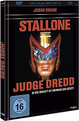 Judge Dredd - Mediabook [Blu-ray + DVD] für 15,93€ bei Alphamovies.de