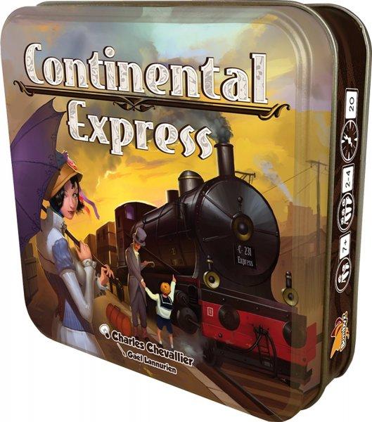 @Amazon Prime: Bombyx 001009 - Continental Express, Kartenspiel für 6,61 / nächster Preis 13€