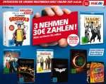 "Real (bundesweit) ""3 nehmen 30€ zahlen"" auf einzelne DVD/BluRay Boxen/Artikel => Game of Thrones 1+2 , Hobbit Trilogie / Dark Knight Trilogie etc. Kombi-Deal +Payback"