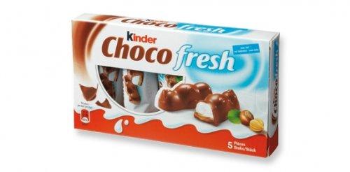 Kinder Choco fresh (5stk drinne) bei Lidl und Kaufland für 1,19€ bundesweit| Milky Way Crispy Rolls (6x2) für 1,39€@Lidl