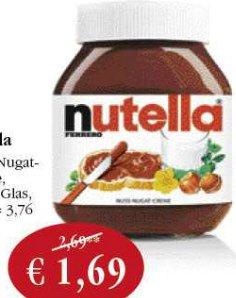 [Sky Coop Supermärkte] Nutella 450g für 1,69 Euro
