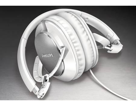 Philips FX 5MWT/00, OverEar-Kopfhörer, mit Mikrofon, 32 Ohm, Weiss für 17,95€ @ Allyouneed