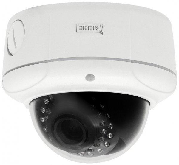 [Amazon/Mediamarkt] Digitus DN-16043 Tag/Nacht Außen Kuppel Überwachungkamera mit Unterstützung für iOS/Android-Geräte (2 Megapixel, 1600 x 1200 Pixel, UXGA, 2GB interner Speicher) WLAN Aussenbereich
