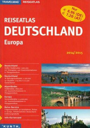 Reiseatlas Deutschland & Europa 2014/2015 für 99 Cent