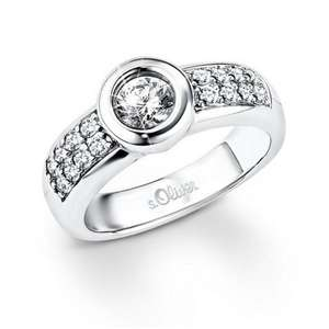 s.Oliver Jewels Damen-Ring Silber 925 SO827 4184 für 14,95 € > amazon.de > Prime