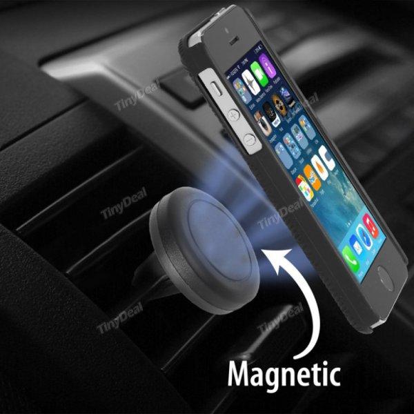 360 Grad rotierende Universal Air Vent magnetische Auto Handy Halterung bei tinydeal