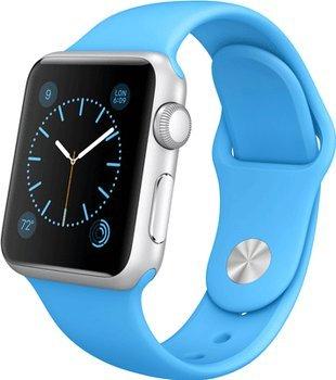 Apple Watch Sport 38mm in Blau oder Grün für 369€