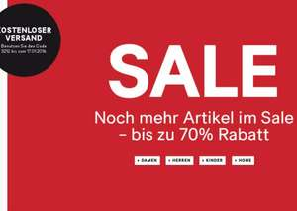 [H&M ONLINE] SALE bis zu 70% Rabatt + kostenlosem Versand