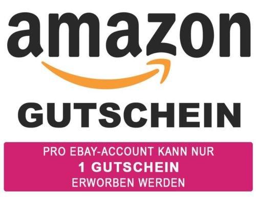 1,50 € Amazon Gutschein für 1,25€ bei Ebay