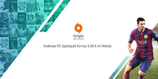 Origin Access für nur 3,99€ pro Monat