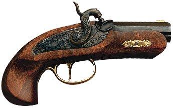 Philadelphia Derringer Perk. .45 Bausatz - Legale Vorderlader-Pistole