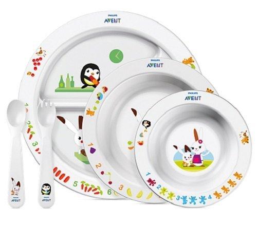 [Amazon Italien] Philips Avent SCF716/00 Großes Ess-Lern-Set  (für Kinder ab 6 Monaten) für 11,65€