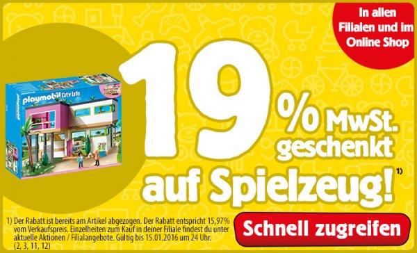 Spiele Max schenkt 19 % Mwst. für Spielzeug und Babyausstattung