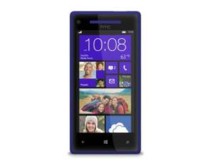 "[Kontra] HTC 8X, Smartphone, 4,3"" (10,92 cm) Display, 8 Mpix, 16 GB, Windows Phone 8, Zenith Blau, ohne Simlock DEMOWARE"