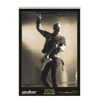 Musiker-Jahreskalender zum Schnäppchenpreis (Guitar, DrumHeads,....) - PPV-Medien 7,99€/9,99€