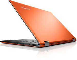 "[Abgelaufen] Amazon: Lenovo IdeaPad Yoga 2 Pro (13,3"" QHD+ 3200x1800 IPS-Display, 512GB SSD, Core i7 4510U, 8GB RAM) Convertible Ultrabook clementine orange"