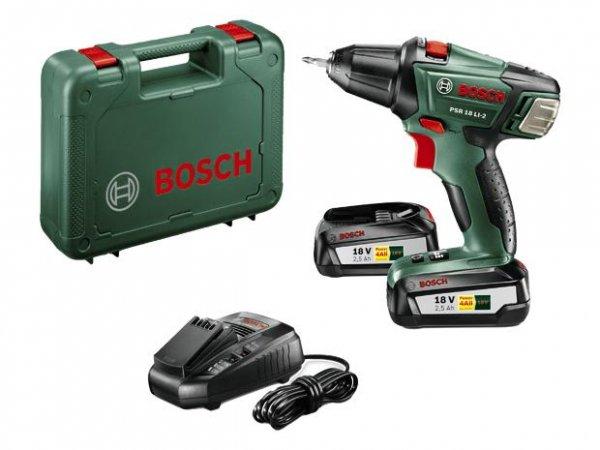 Bosch Akkuschrauber PSR 10.8 (€114), PSR 14.4 (€139), PSR 18 (€169) bei Hela und Globus Baumarkt