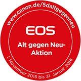 300 € Cashback von Canon bei Kauf einer neuen EOS 5D oder EOS 5DS R bis 31.01.2016