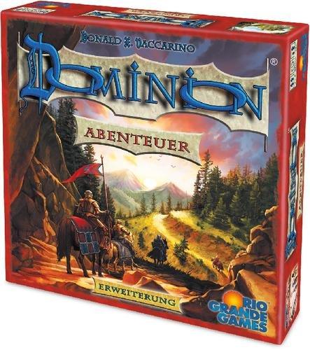 Dominion Erweiterung Abenteuer (Kartenspiel, Gesellschaftsspiel, Buch.de)